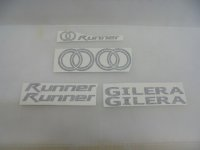 GILERA Runner Name Plate SET