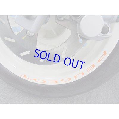 画像2: PEUGEOT DJANGO  Wheel Rim LogoSticker