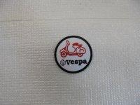 VESPA  a Emblem bk/red