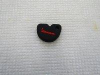 VESPA  Key Cap (Black/red)